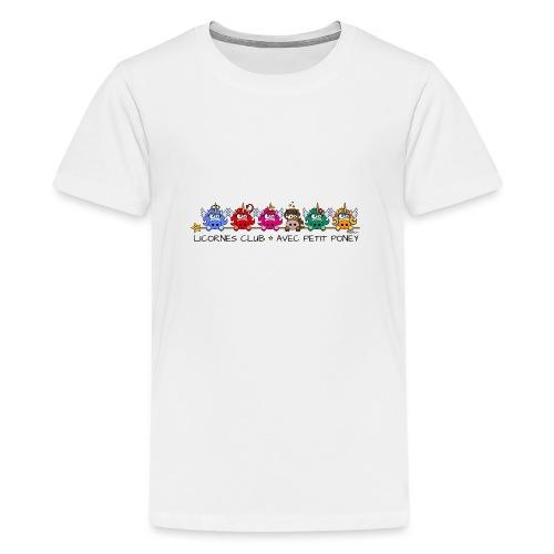 Unicorns Club & Little Pony - T-shirt Premium Ado