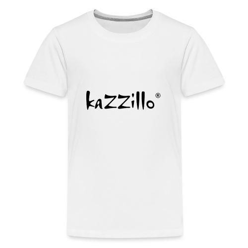Logo kazzillo - Maglietta Premium per ragazzi