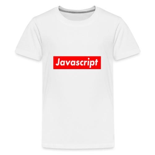 Javascript - Teenage Premium T-Shirt