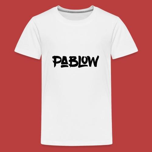 Pablow Logo - Teenager Premium T-shirt