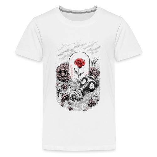 The Last Flower On Earth - Teenage Premium T-Shirt