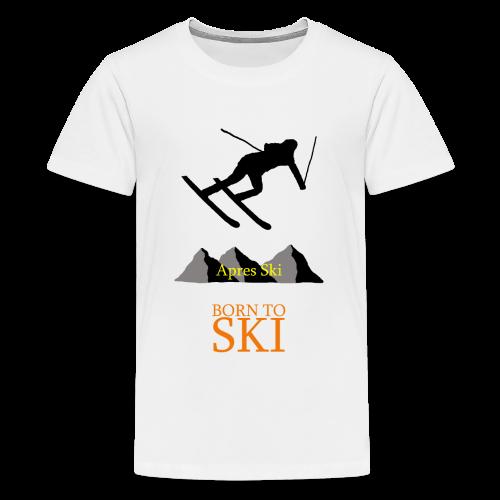 Schishirt - Teenager Premium T-Shirt