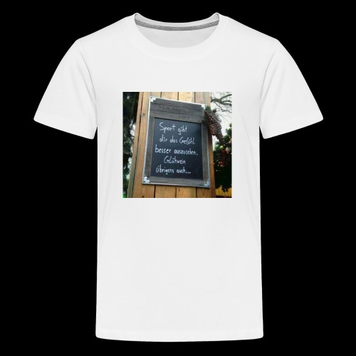 Spruch t-shirt - Teenager Premium T-Shirt