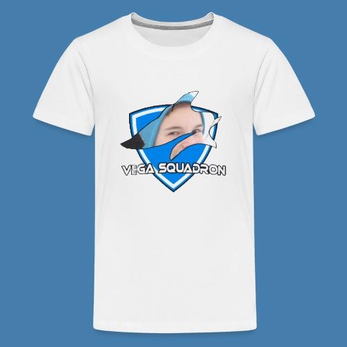 Veega Full Chest Logo - Premium T-skjorte for tenåringer