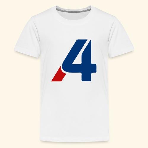 A4 - Camiseta premium adolescente