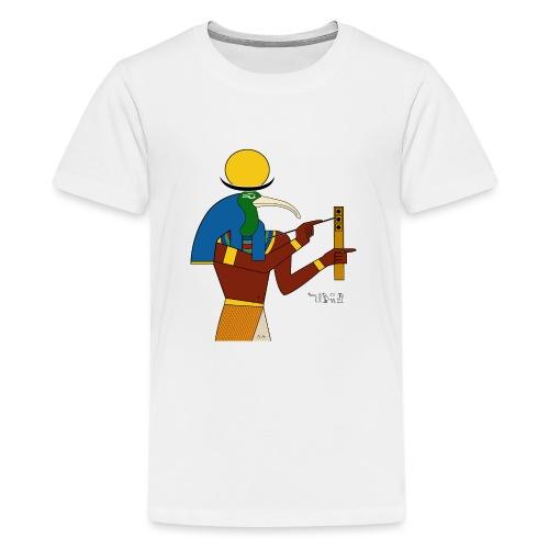 Thot – altägyptische Gottheit - Teenager Premium T-Shirt