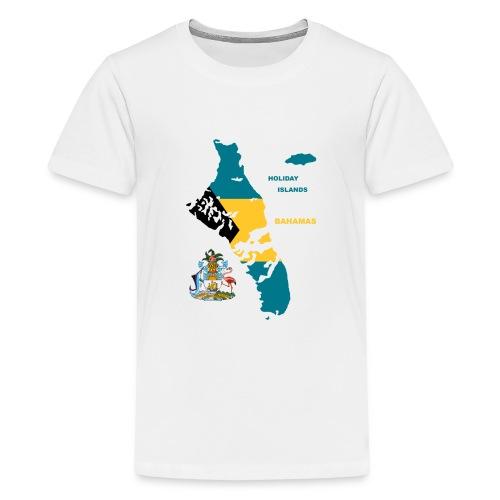 Summer Islands Bahamas Atlantik Urlaub Sonne - Teenager Premium T-Shirt