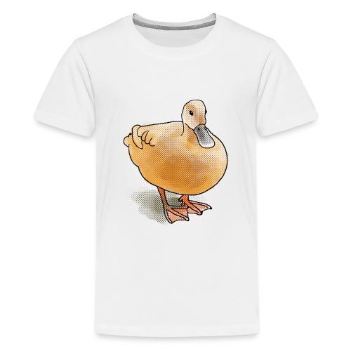 eend halftone - Teenager Premium T-shirt