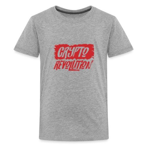 Crypto Revolution - Teenage Premium T-Shirt