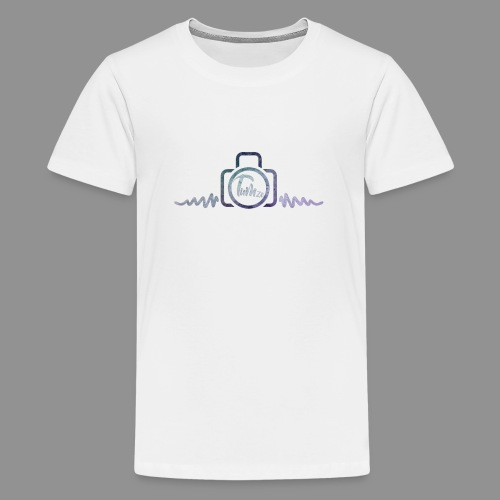 CAMERA LOGO - Teenage Premium T-Shirt
