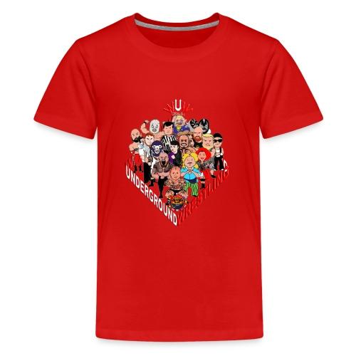 comics-wrestler - Teenager Premium T-Shirt