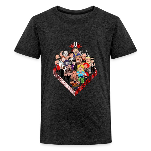 comics-wrestler - Teenager Premium T-Shirt