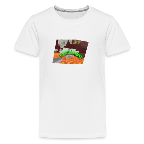 Logopit 1513697297360 - Teenager Premium T-shirt