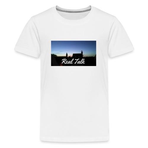Real Talk - Teenage Premium T-Shirt