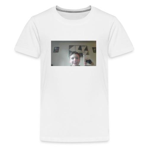 morgan phone merch - Teenage Premium T-Shirt