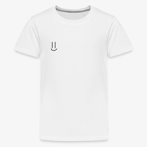 Simple Smiley face - Teenage Premium T-Shirt