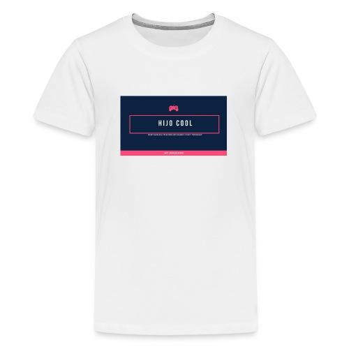 Logo 2 - Premium-T-shirt tonåring