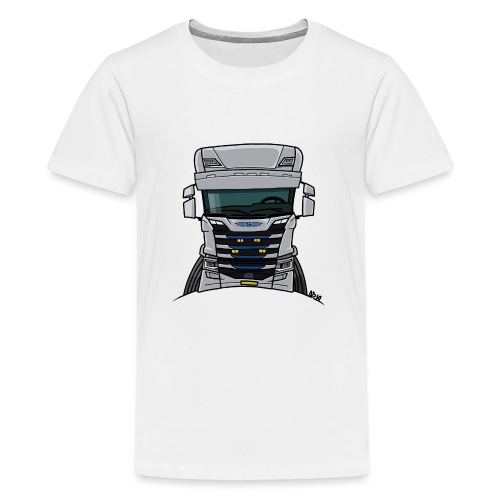 0814 S truck grill wit - Teenager Premium T-shirt