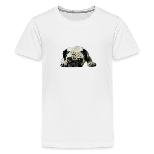 Cute pugs - Camiseta premium adolescente