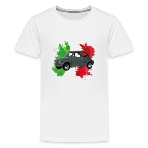 Italian style (500) grigia - Maglietta Premium per ragazzi