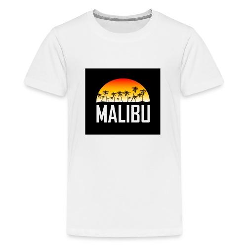 Malibu Nights - Teenage Premium T-Shirt