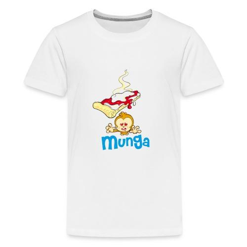 Munga Pizza - Maglietta Premium per ragazzi