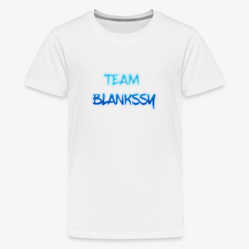 TEAM BLANKSSY - Teenage Premium T-Shirt