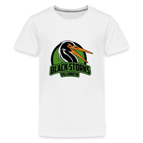 Camiseta Basica BlackStorks - Camiseta premium adolescente