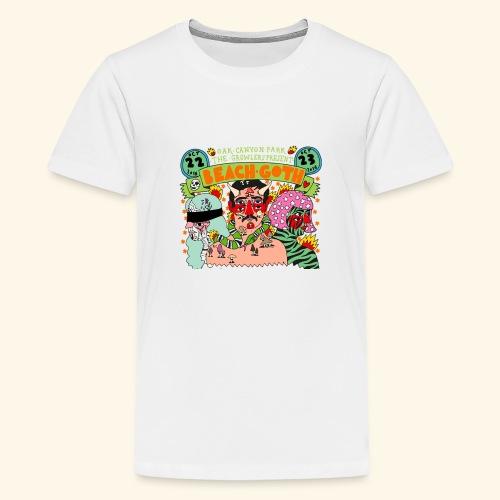 beach goth 2016 - T-shirt Premium Ado