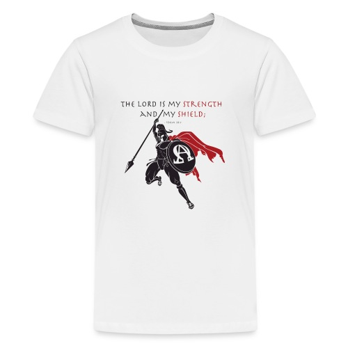Christian Warrior - Teenager Premium T-Shirt