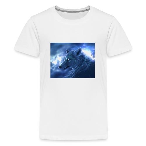 Arctic Wolf - Teenager Premium T-Shirt