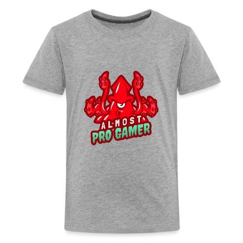 Almost pro gamer RED - Maglietta Premium per ragazzi