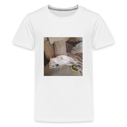 dog life - Teenage Premium T-Shirt