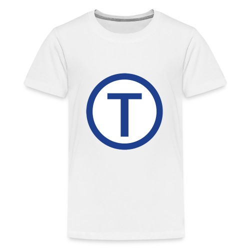 techwiz logo - Teenage Premium T-Shirt