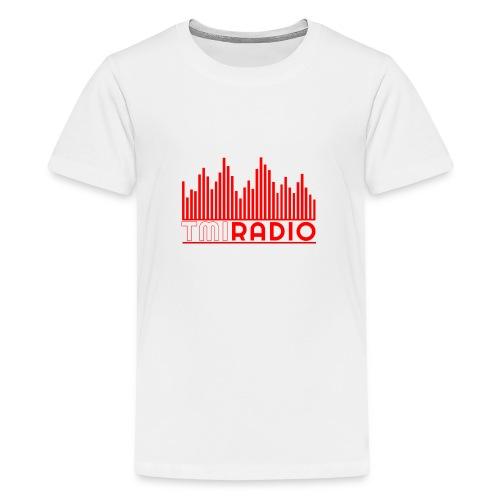 NEW TMI LOGO RED AND WHITE 2000 - Teenage Premium T-Shirt