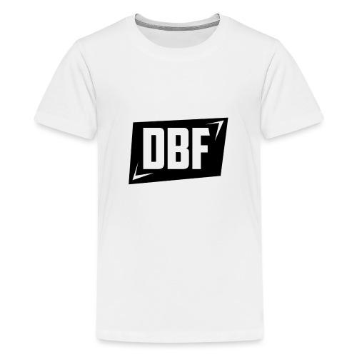 DBF Logo Text - Teenage Premium T-Shirt