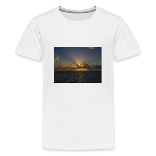 SUNSET - Camiseta premium adolescente