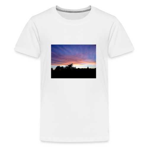 Sunset - Teenager premium T-shirt