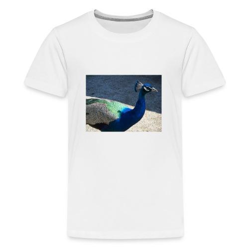Riikinkukko - Teinien premium t-paita