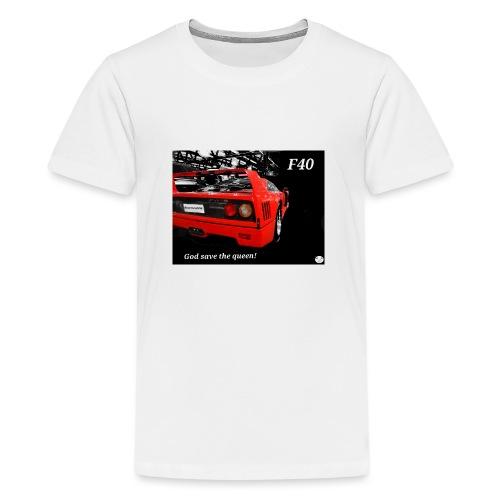 f40 - Maglietta Premium per ragazzi