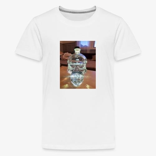 Crystel Head - Teenager Premium T-Shirt