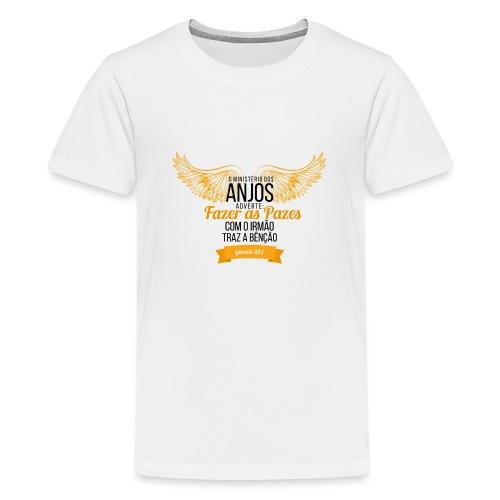 Angels Peas - Teenage Premium T-Shirt