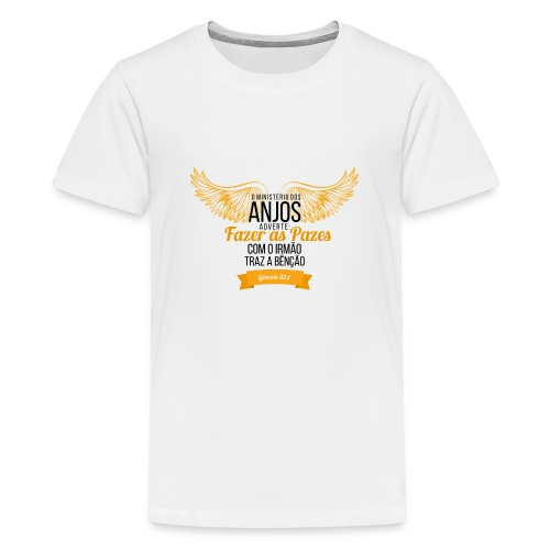 Angels Peas - Teenage Premium T-Shirt