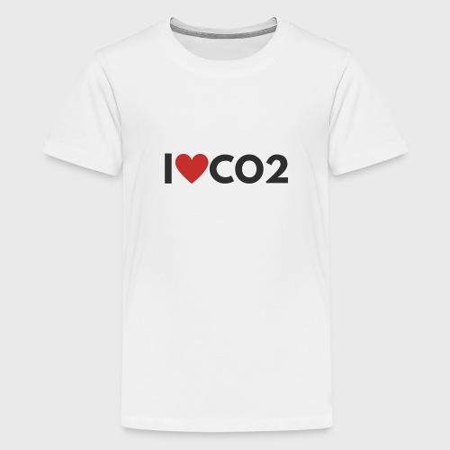 I LOVE CO2 - Teinien premium t-paita