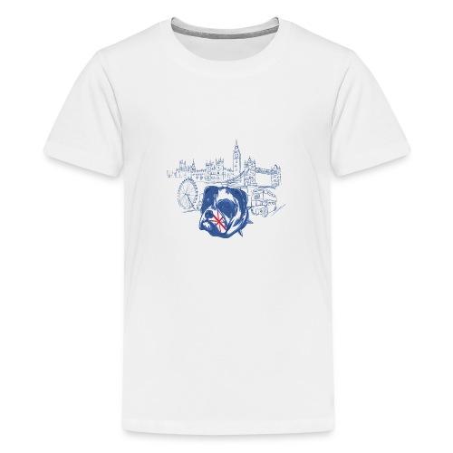 London - Premium-T-shirt tonåring