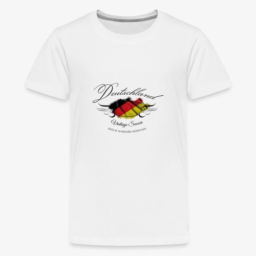Vintage Deutschland - Teenager Premium T-Shirt