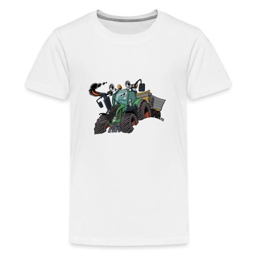 F 718Vario met kar - Teenager Premium T-shirt