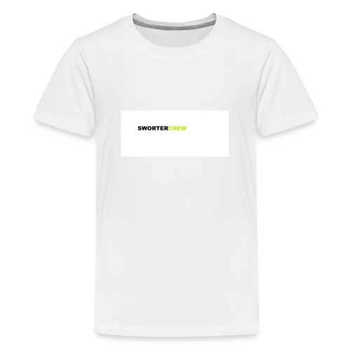 SWORTERCREW - Teenager Premium T-Shirt