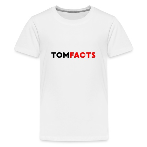 TomFacts - Teenage Premium T-Shirt