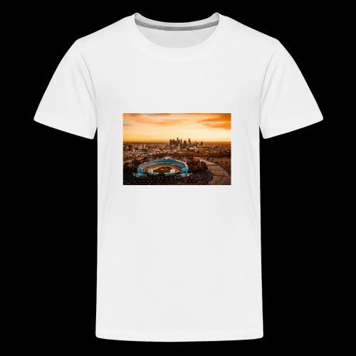 #phils.LA - Dodgers Stadion - Teenager Premium T-Shirt